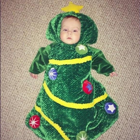 Toddler Christmas Tree Costume.Baby Christmas Tree Costume